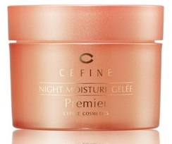 "ЖЕЛЕ НОЧНОЕ УВЛАЖНЯЮЩЕЕ ""BEAUTY PRO NIGHT MOISTURE GELEE PREMIER"". CEFINE"