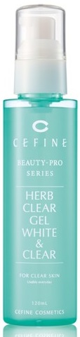 "ПИЛИНГ-ГЕЛЬ ОЧИЩАЮЩИЙ  ВОССТАНАВЛИВАЮЩИЙ ""HERB CLEAR GEL WHITE & CLEAR"". CEFINE"