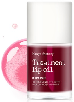 МАСЛО ДЛЯ ГУБ TREATMENT LIP OIL RED VELVET. MANYO FACTORY