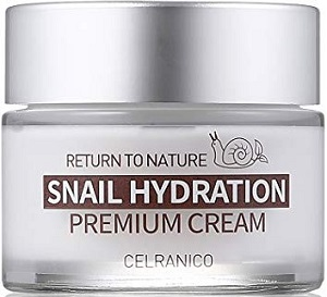 КРЕМ ДЛЯ ЛИЦА С МУЦИНОМ УЛИТКИ, CELRANICO RETURN TO NATURE SNAIL HYDRATION PREMIUM CREAM