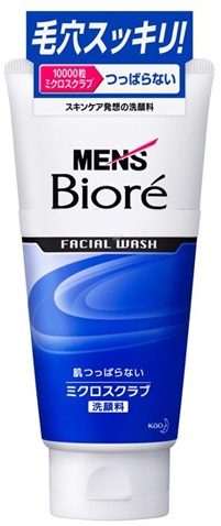 "МУЖСКОЙ СКРАБ ДЛЯ ЛИЦА MEN'S ""BIORE"". KAO"