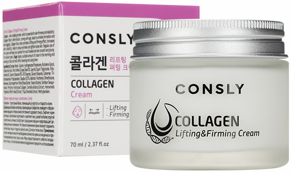 ЛИФТИНГ КРЕМ ДЛЯ ЛИЦА С КОЛЛАГЕНОМ CONSLY COLLAGEN LIFTING & FIRMING CREAM