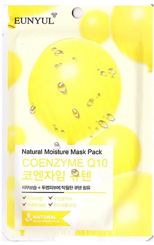 МАСКА С КОЭНЗИМАМИ, NATURAL MOISTURE MASK PACK COENZYM