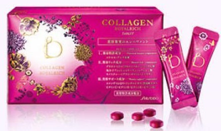 COLLAGEN ROYALRICH TABLET BENEFIQUE BY SHISEIDO. SHISEIDO