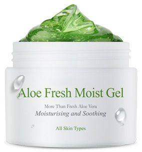 КРЕМ-ГЕЛЬ ДЛЯ ЛИЦА С ЭКСТРАКТОМ АЛОЭ ALOE FRESH MOIST GEL. THE SKIN HOUSE