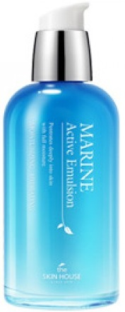 ЭМУЛЬСИЯ  ДЛЯ ЛИЦА С КЕРАМИДАМИ MARINE ACTIVE EMULSION. THE SKIN HOUSE