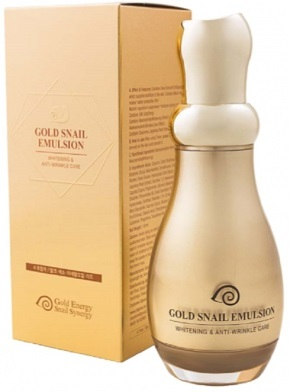 ЭМУЛЬСИЯ GOLD SNAIL EMULSION. GOLD ENERGY SNAIL SYNERGY