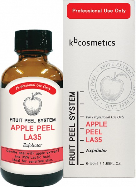 ЯБЛОЧНЫЙ ПИЛИНГ FRUIT PEEL SYSTEM APPLE PEEL LA35. KB COSMETICS